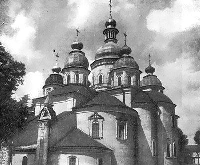Кирилівська церква. XII ст.