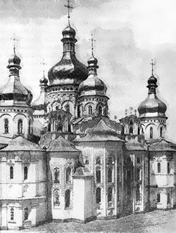 Успенський собор Печорського монастиря. 1940 р.