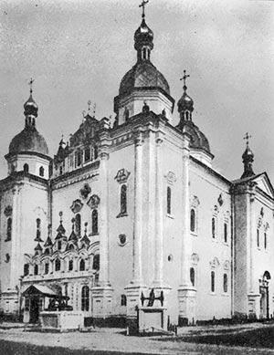 Воєнно-Микільський собор. 1690—1696 рр. Архітектор Й. Старцев.