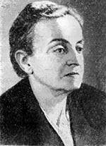 О. Я. Кульчицька — народний художник УРСР. Фото 1958.
